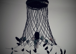 Lignt metal plumes verre